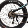 E9 Fat Track rear tire gears