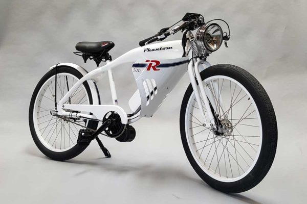 Phantom R e-bike in white