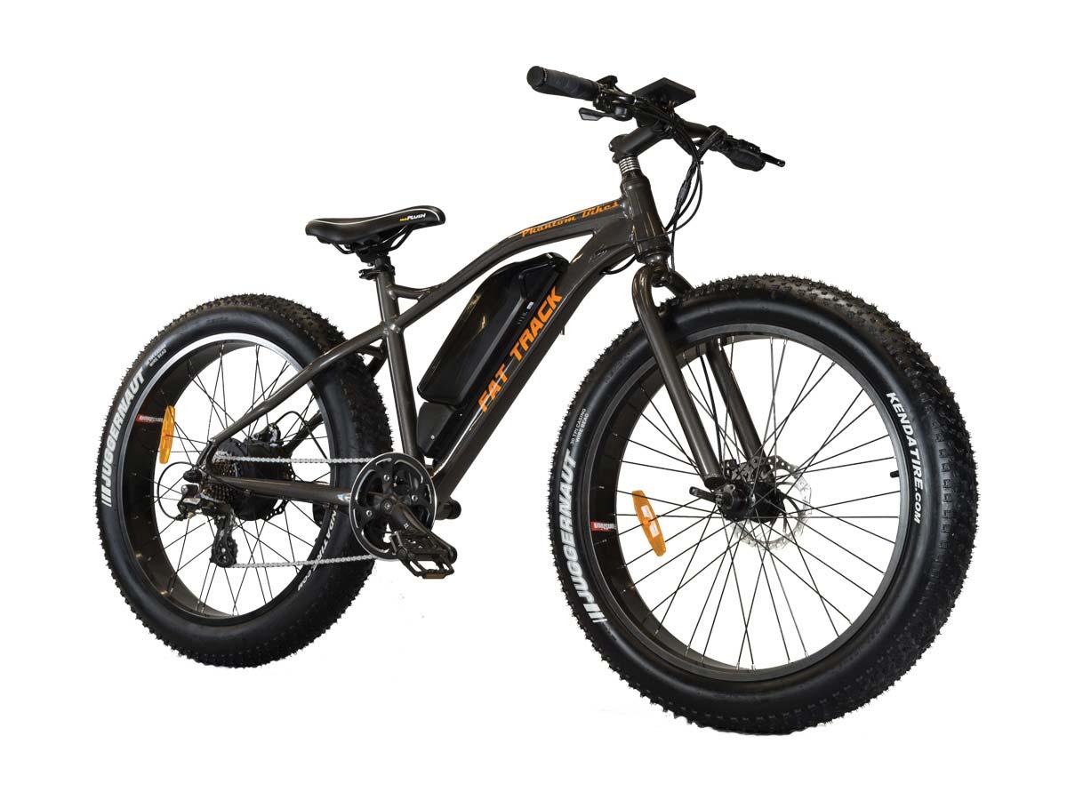 Fat Track Electric Motor Mountain Bike Phantom Bikes