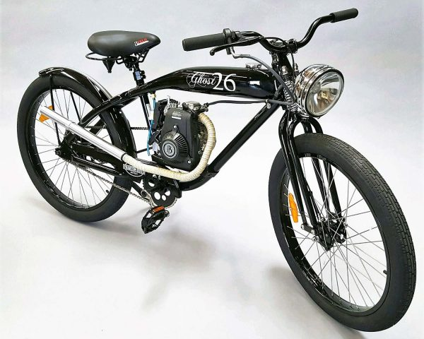 Ghost 26 gas powered bicycle by Phantom Bikes