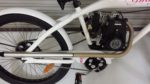 Gas powered engine of the Ghost Classic bicycle by Phantom Bikes