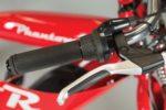 Handlebar grip and hand brake on the Phantom R Electric Bike