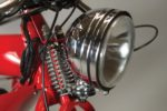 Large Headlamp on the front of the Phantom R Electric Bike