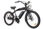 Phantom Vision electric bicycle by Phantom Bikes in black