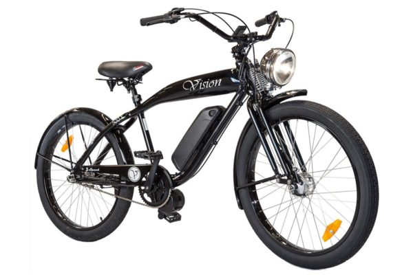 Phantom Vision electric bicycle by Phantom Bikes in black