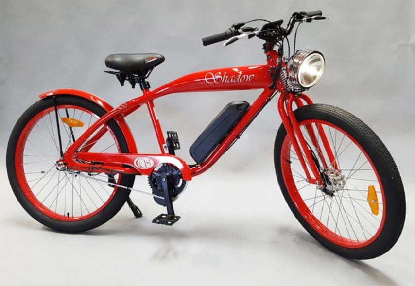 Phantom shadow electric motorized bicycle phantom bikes for Motorized bicycle california law