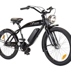 Phantom Vision Motorized Electric Bike in Black