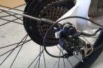 Shimano 7-Speed gear system on the Phantom Swirl electric bike