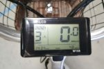 Digital display with pedal assist on the Phantom Swirl electric bike