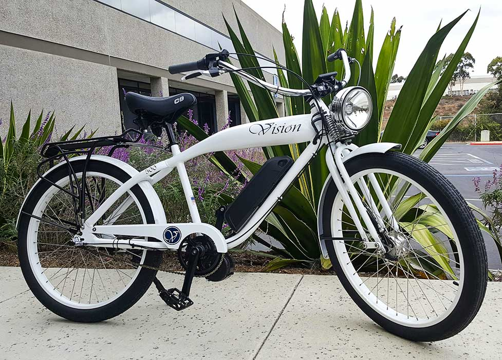 Phantom vision electric motor bike phantom bikes for Motorized bicycle california law