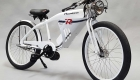 Phantom R electric motor bike in white