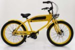 Yellow Phantom 1910 electric bike
