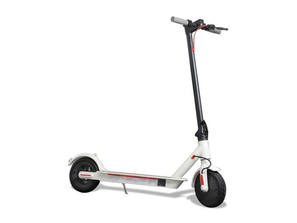 The Phantom Cali electric motor scooter in white