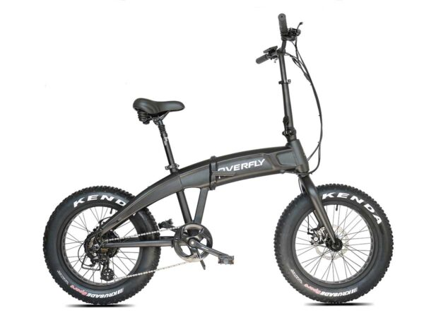 The Phantom Hummer, folding e-bike in black