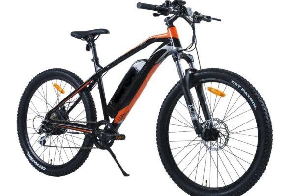 Phantom Sportsman e-bike in orange and black